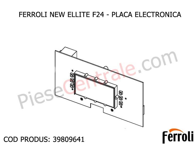 Poza Placa electronica Ferroli New Elite F 24