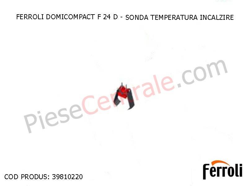Poza Sonda temperatura incalzire centrale termice Ferroli
