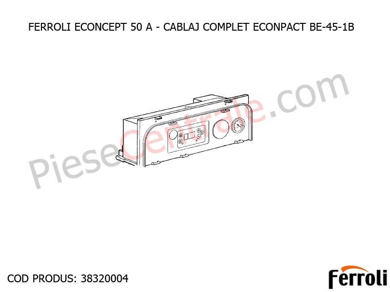 Poza Cablaj complet ECONPACT BE-45-1B pentru centrala Ferroli Econcept 50 A