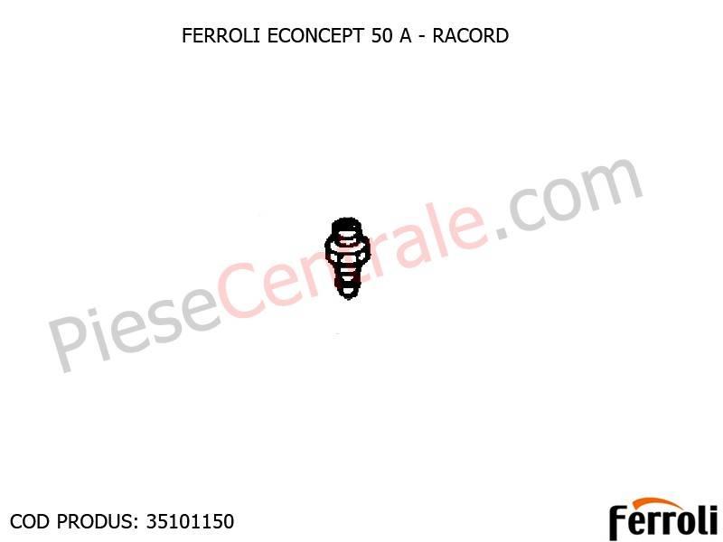 Poza Racord presiune centrala Ferroli Econcept 50 A
