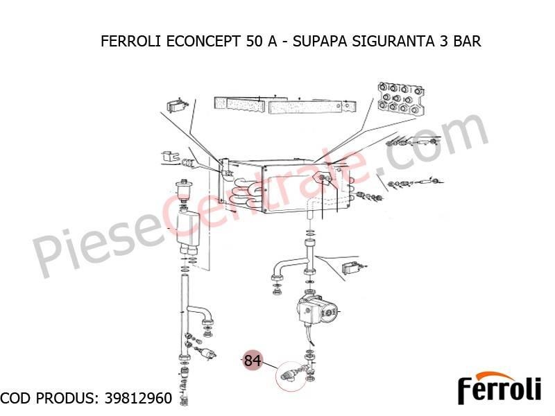 Poza Supapa siguranta 3 bari centrala termica Econcept