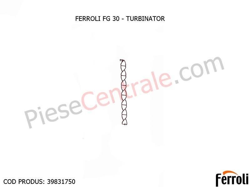 Poza Turbinator pentru centrala pe lemne Ferroli FG si GF N