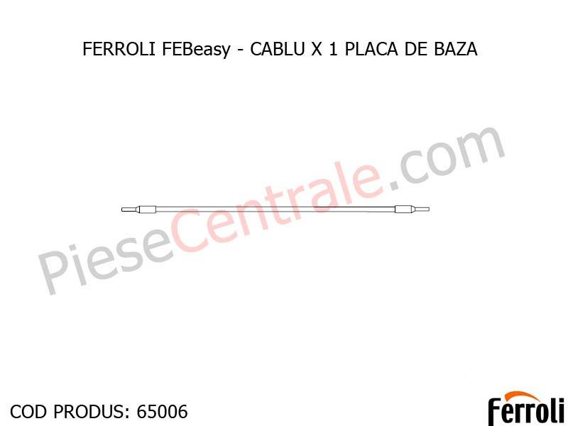 Poza CABLU X 1 PLACA DE BAZA centrala electrica Ferroli Febeasy 08