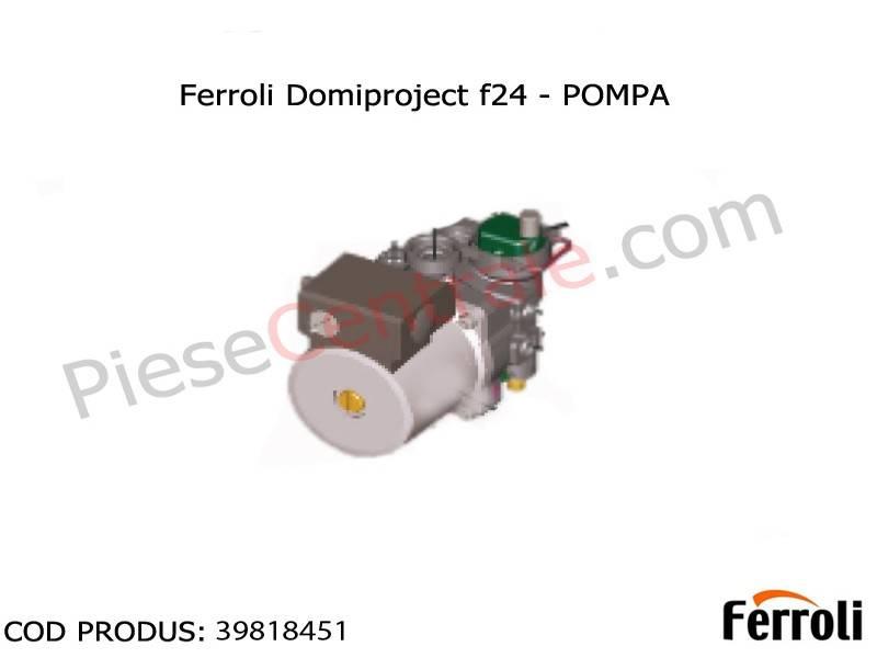 Poza Pompa circulatie centrale termice Ferroli Domiproject F, Fereasy, Domicompact, Divatech