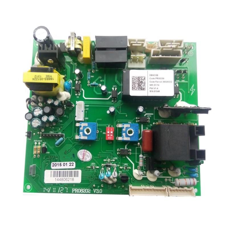 Poza Placa electronica centrala termica Ferroli Domina F24N cu leduri. Poza 8080
