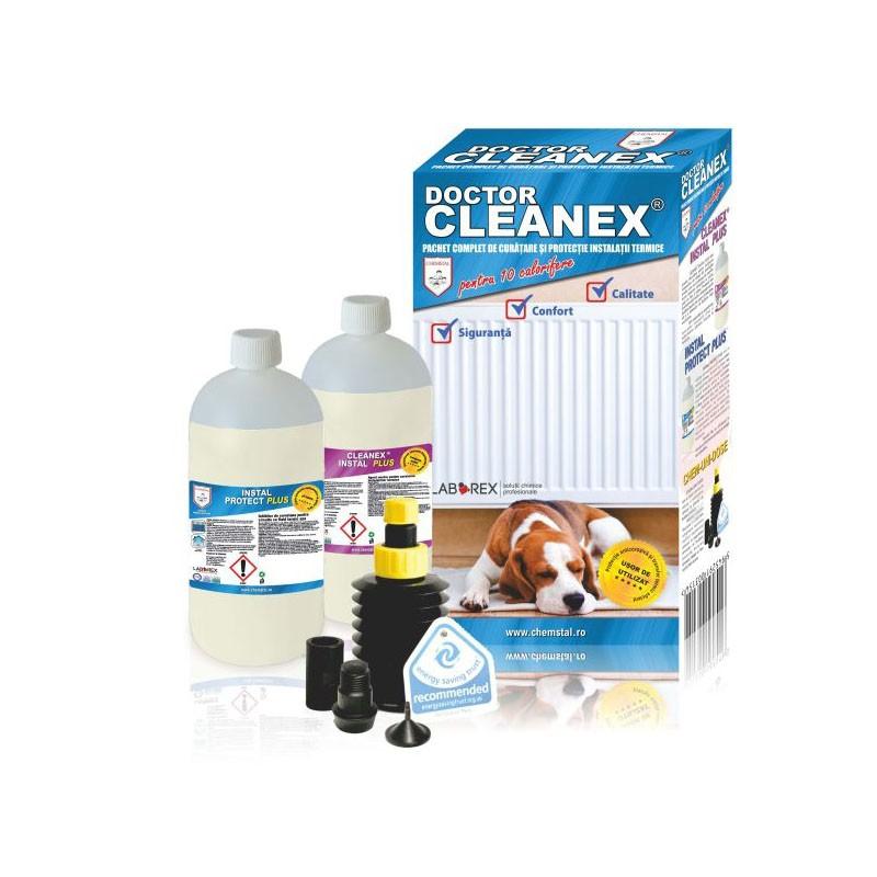 Poza Pachet curatare si protectie pentru instalatiile termice Doctor Cleanex. Poza 8172