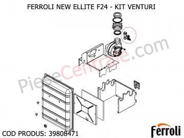 Poza Tub Venturi centrale termice Ferroli Fereasy F 24, Domiproject F, Domina F, Divatech F