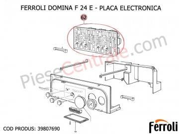 Poza Placa electronica centrala termica Ferroli Domina