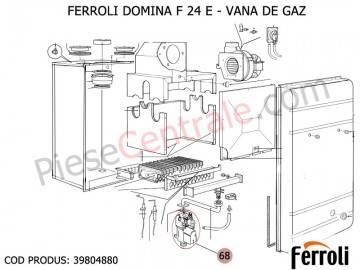 Poza Vana gaz centrale termice Ferroli Domina si New Elite