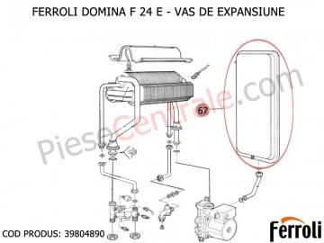 Poza Vas expansiune centrala termica Ferroli Domina F 24 E