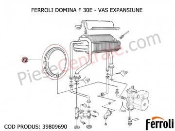 Poza Vas expansiune centrale termice Ferroli Domina F, Domiproject F, Divatop F, Econcept, Econcept Tech