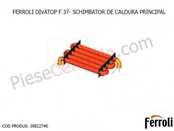 Poza Schimbator de caldura principal centrale termice Ferroli Divatop F 37