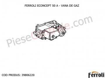Poza Vana de gaz centrala Ferroli Econcept 50 A