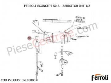 Poza Aerisitor IMT 1/2 centrala termica Ferroli Econcept 50 A