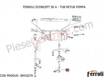 Poza Tub retur pompa centrala termica Econcept