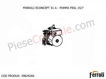 Poza Pompa FRSL 15/7 centrala termica Ferroli Econcept 51 A