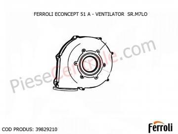 Poza Ventilator SR.M7LO centrala termica Ferroli Econcept 51 A
