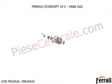 Poza Vana gaz centrala termica Ferroli Econcept
