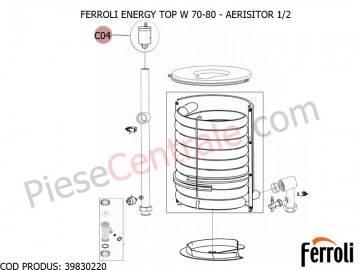 Poza Aerisitor 1/2 centrale termice Ferroli Energy Top W 70-80