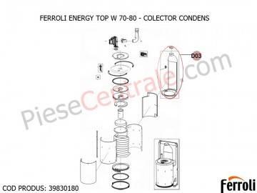Poza Colector Condens centrale termice Ferroli Energy Top W 70-80