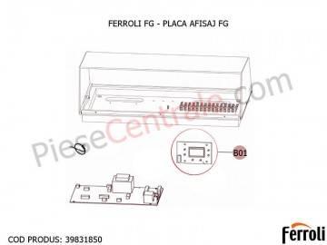 Poza Placa afisaj pentru centrala pe lemne Ferroli FG