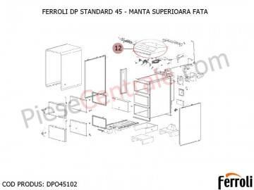 Poza Manta superioara fata centrala pe lemne Ferroli DP Standard