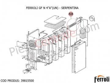 Poza Serpentina centrala pe lemne Ferroli GF N
