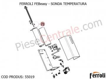 Poza Sonda temperatura electrica Ferroli Febeasy 08