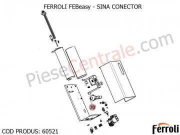 Poza Sina conector centrala electrica Ferroli Febeasy 08