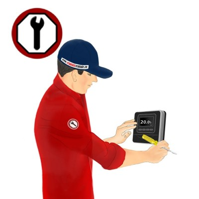 Poza Instalare termostat ambient cu fir / wireless. Poza 8354