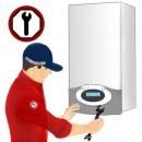 Revizie centrala termica functionare pe gaz cu putere pana in 35 kw