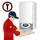 Punere in functiune si autorizare functionare pentru centrale termice murale pana in 35 KW